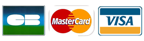 Carte bancaire, VISA, CB, Mastercard, Paiement sur Atout Coffre-fort
