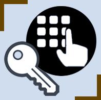 Serrure électronique + serrure à clé